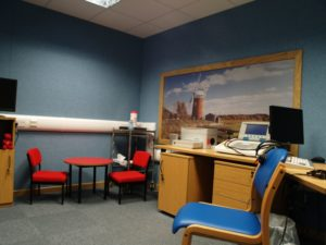 modern audiology rooms