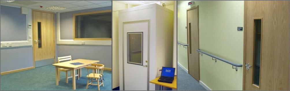 Audiology rooms