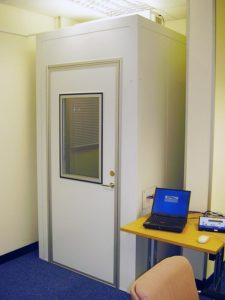 audiology booth