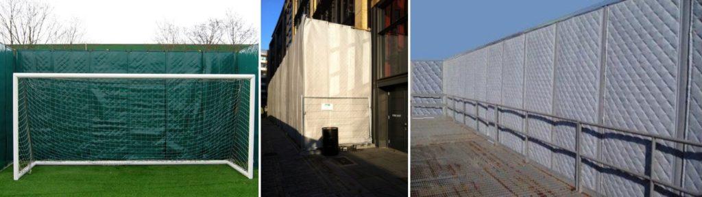 industrial noise barrier blankets