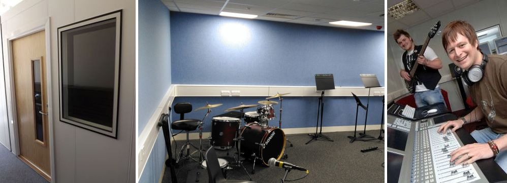 music practice rooms studio design and build