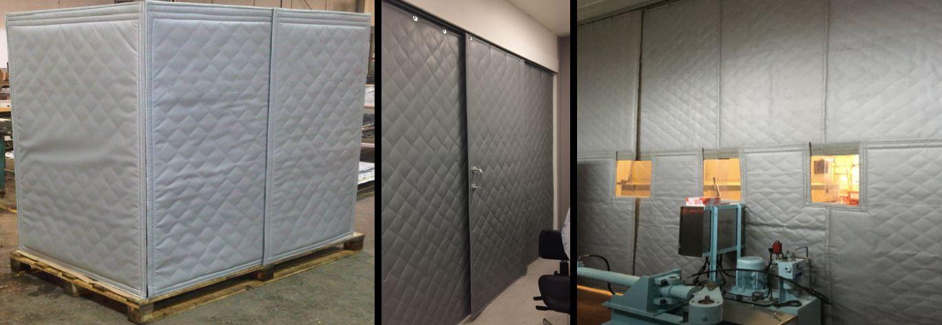 acoustic blanket industrial enclosures