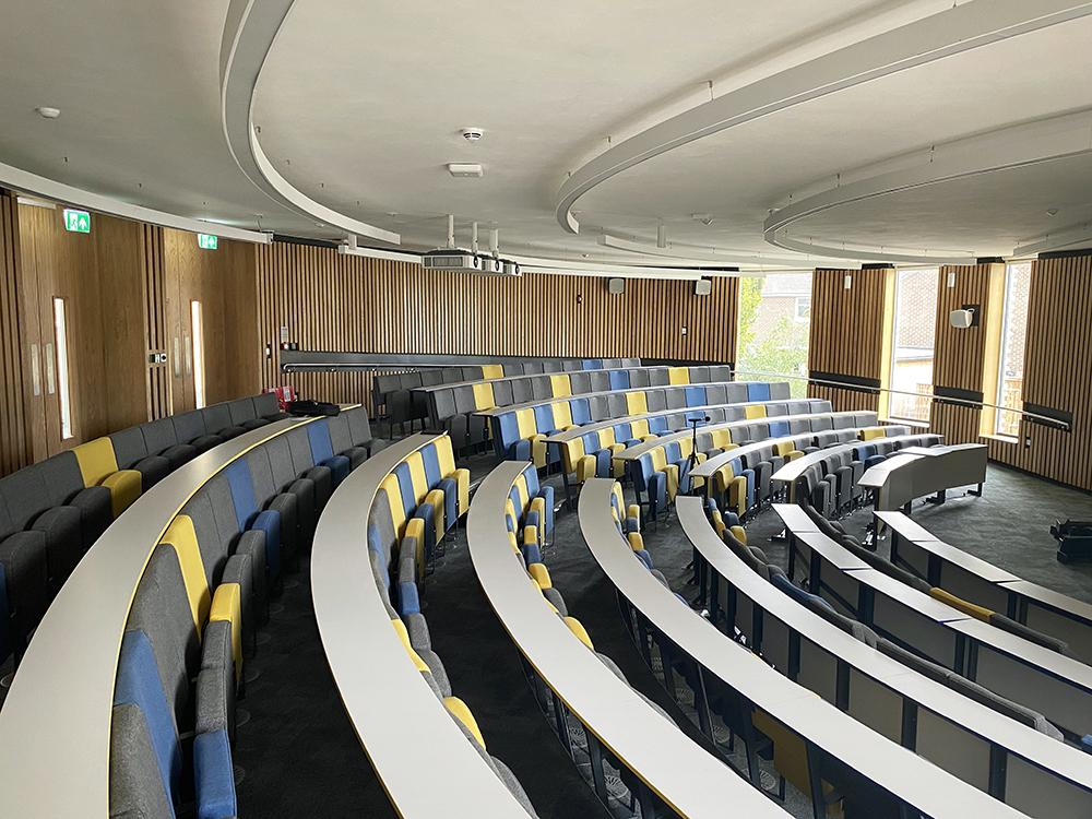acoustic design lecture theatre