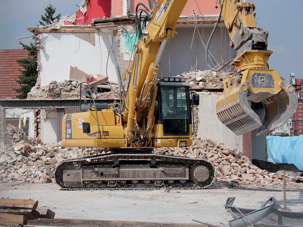 sound blanket demolition